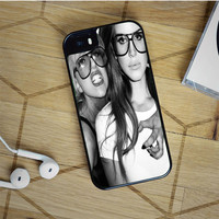 lady gaga and lana del rey iPhone 5(S) iPhone 5C iPhone 6 Samsung Galaxy S5 Samsung Galaxy S6 Samsung Galaxy S6 Edge Case, iPod 4 5 case