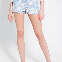 Urban Outfitters - Pins And Needles High-Rise Scallop Short