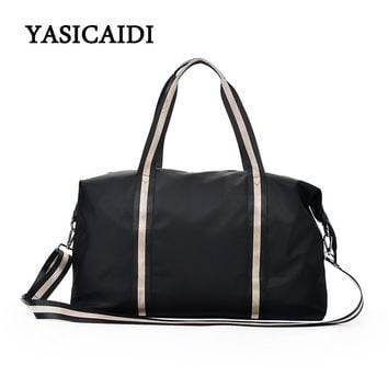 2018 New Arrival Fashion Women Travel Bag Oxford Zipper Travel Duffle Carry On Hand Luggage Packing Large Capacity Shoulder Bag