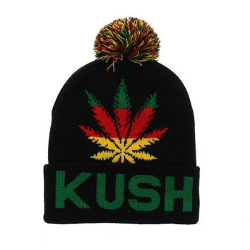 * Beanie Kush In Black