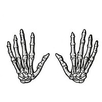 Skeleton Hands Patches - 820293