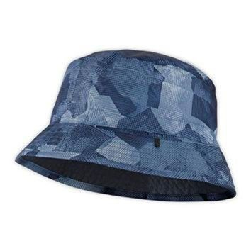 VLXZRBC The North Face Sun Stash Hat Moonlight Blue Depth Camo Print/Cosmic Blue L/XL