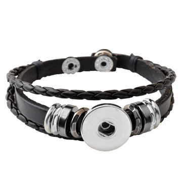 Trendy Friendship Bracelet (Black)