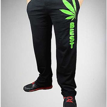 Best Pot Leaf Lounge Pants - Spencer's