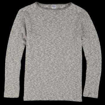 UNIONMADE - tieasy - Original Boatneck Tee in Mix Charcoal