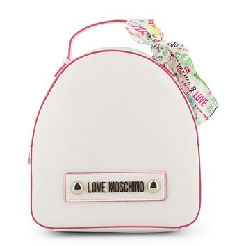 Love Moschino Women White Rucksacks