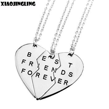 Broken Heart Best Friends Forever Pendant Necklaces
