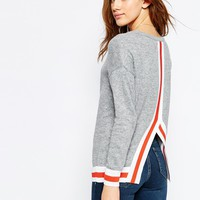 ASOS Jumper With Contrast Tipping Detail