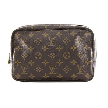 Tagre™ Authentic Louis Vuitton Trousse toilette 23 monogram cosmetic bag M47524