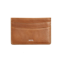 Caramel Card Wallet - A.P.C.