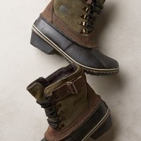 Sorel Winter Fancy Lace II Boots Moss