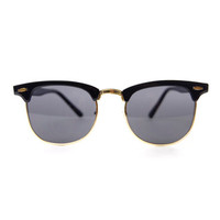 Clubmaster Sunglasses - Black
