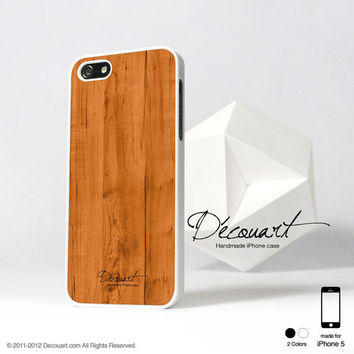 iPhone 5 case, iPhone 5 cover, case for iPhone 5, Wood pattern S006