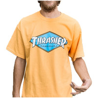 Thrasher OG Diamond Logo T-Shirt - Honey Gold