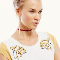 Free People Jungle Cat Tee