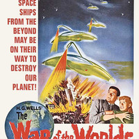 The War of the Worlds 27x40 Movie Poster (1953)
