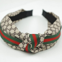 GUCCI BEES Silk Headband Headband Headwrap Head Hair Band