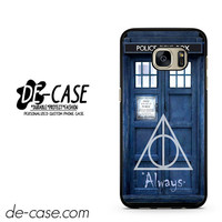 Tardis Police Box Deathly Hallows Harry Potter DEAL-10492 Samsung Phonecase Cover For Samsung Galaxy S7 / S7 Edge