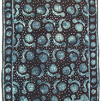 Black And Blue Celestial Tapestry