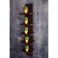 Utility Column Spine Wall Shelves by Danya B