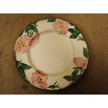 Franciscan Vintage Salad Plate 8in Floral Desert Rose California China -- Used