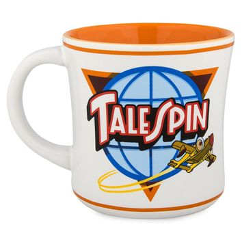 Disney Parks DuckTales TaleSpin Ceramic Coffee Mug New