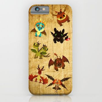 The Book of Dragons iPhone & iPod Case by Le Bear Polar