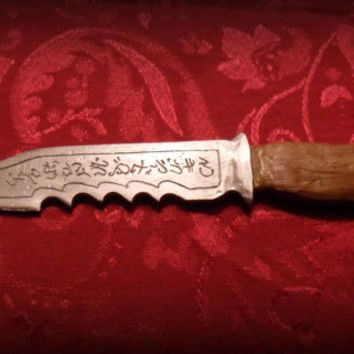 "Supernatural Prop ""Ruby's Knife"" Handmade Resin Replica (NEW 2014 Model)"