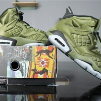 "Air Jordan 6 Retro AJ6 AH4614-303 ""Promo Jacket"""