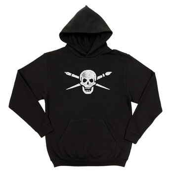 Brush and Bones Unisex Hoodie