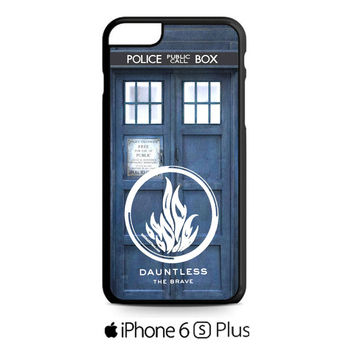 Doctor Who Tardis Divergent Dauntless iPhone 6S  Plus  Case
