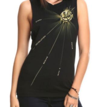 The Hunger Games: Catching Fire Revolution Sleeveless Girls T-Shirt