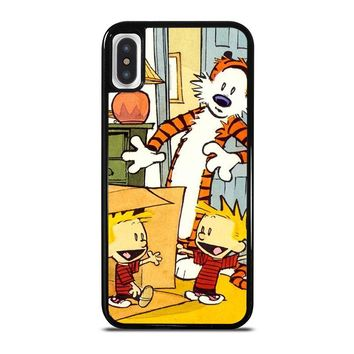 CALVIN AND HOBBES DUPLICATOR iPhone X Case Cover