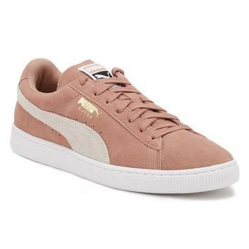 PUMA Womens Cameo Brown Suede Classic Trainers