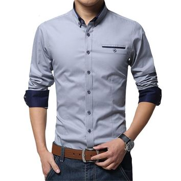 High Quality Long Sleeve Slim Fit