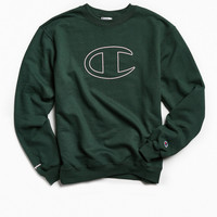 Champion Big C Crew Neck Sweatshirt | Urban Outfitters