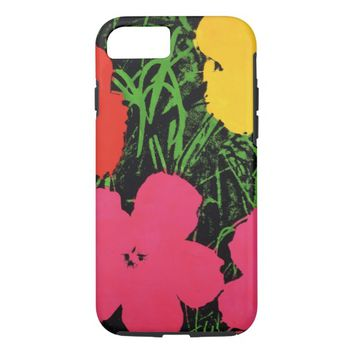 Vintage FLORAL Pattern iPhone 7 Case, Cover