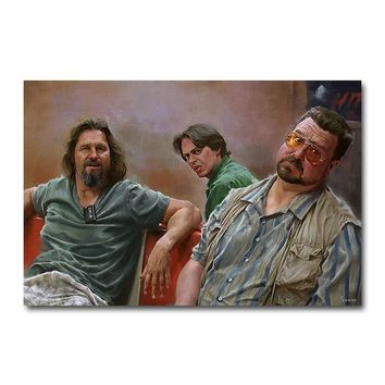 The Big Lebowski Classic Movie Silk Poster Wall Art Print 12x18 24x36 inch Decoration Pictures Wallpaper Living Room Decor 002