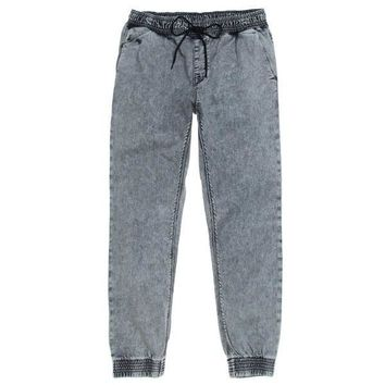 Dark Denim Joggers Pants