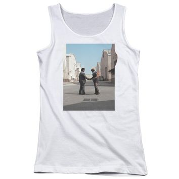 Pink Floyd - Wish You Were Here Juniors Tank Top