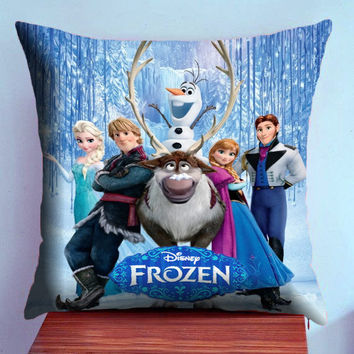 Frozen Disney Poster - Case2Pillow , Pillow Case , Decor Pillow Case , Bedding Pillow Case