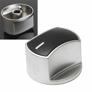 Metal Silver Universal Silver Gas Stove Knobs Cooker Oven Hob Kitchen Switch Control Newest 168 button