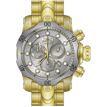 Invicta Men's 23893 Venom Quartz Chronograph Antique Silver Dial Watch