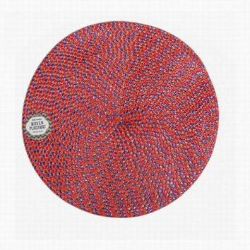 royal classic 15 inch round woven placemat Case of 24