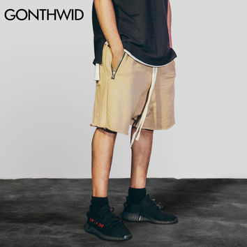 Men Sporting Short Pants Drawstring Shorts Summer Essentials Skateboards Sweat shorts Male Hip Hop Casual Joggers