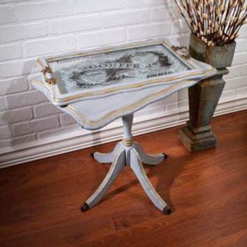 French Butler Table And Tray Set Of 2