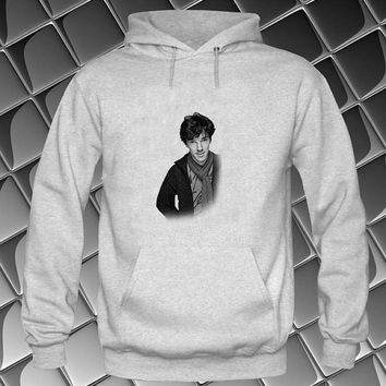 benedict cumberbatch Hoodies Hoodie Sweatshirt Sweater white and beauty variant color Unisex size