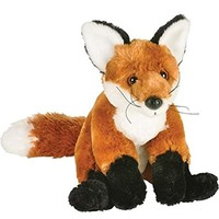 "10"" Red Fox Plush Stuffed Animal Toy"
