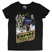 Star Wars Empire Graphic Tee Black