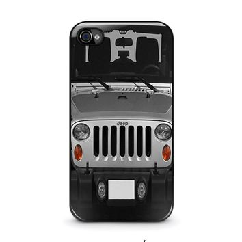 jeep iphone 4 4s case cover  number 1